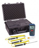 REED Instruments R2400-KIT THERMOMETER, THERMOCOUPLE WITH 3 PROBES AND CASE