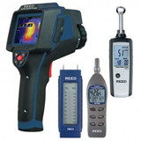 REED Instruments REED-BUILDING-KIT THERMAL IMAGER/MOISTURE DETECTORS/PSYCHROMETER COMBO KIT