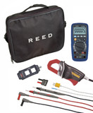 REED Instruments ST-HVACKIT CLAMP METER/MULTIMETER/ VOLTAGE TESTER COMBO KIT