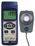 REED Instruments SD-1128-NIST LIGHT METER/TYPE J/K THERMOMETER, DATA LOGGER, 100,000 LUX W/NIST CERT