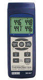 REED Instruments SD-947 THERMOMETER, THERMOCOUPLE, 4-CHANNEL, DATA LOGGER
