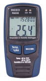 REED Instruments R6030 TEMPERATURE & HUMIDITY DATALOGGER, LCD, -40/158°F, -40/70°C, 0-100%RH