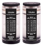 REED Instruments R9980 33% & 75% HUMIDITY STANDARD KIT FOR R6001/SD-3007/8706