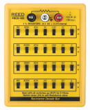 REED Instruments RBOX-408 RESISTANCE DECADE BOX