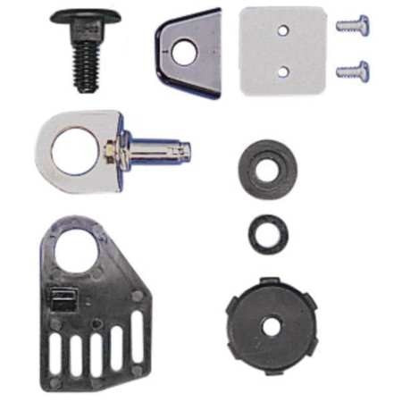 13.31 Length 16.69 Width MSA 48733 Replacement Lug with Screws and Reinforcement Plates for Use with Instant Release Non Slotted Caps 21.18 Height