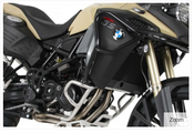 BMW F800GS Adventure Hepco & Becker Upper Crash Bars (black)