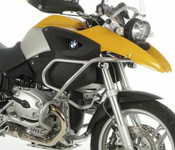 BMW R1200GS 2004 - 2007 Hepco & Becker Upper Crash Bars [silver)