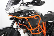 KTM 1190 Adventure R Hepco & Becker Upper Crash Bars (orange)