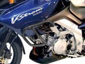 SUZUKI DL1000 V-Strom [2002 - 2007] Hepco & Becker Lower Crash Bars (black)