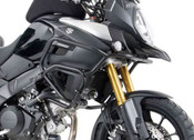 SUZUKI V-Strom 1000 ABS Hepco & Becker Crash Bars - Upper (black)