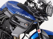Triumph Tiger 800 XC / XCX / XCA [2015-2017] Hepco & Becker Upper Crash Bars (black)