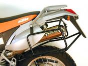 KTM LC4-E 400 / LC4-E 640 / LC4 640 Adventure Hepco & Becker Pannier Frames (black)