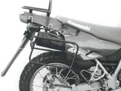 KAWASAKI KLR650 Hepco & Becker Pannier Frames (black) - B