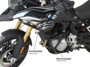 BMW F750GS Hepco & Becker Upper Crash Bars (black)