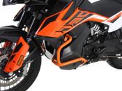 KTM 790 Adventure/R Hepco & Becker Lower Crash Bars (orange)