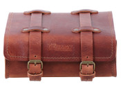Hepco & Becker Rear Legacy Leather Bag (brown)