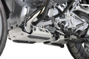 BMW R1200GS LC Hepco & Becker Engine Protection Plate (silver)