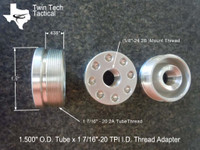 """1 7/16""""-20 x 5/8""""-24 (D) size Tube Adapter"""