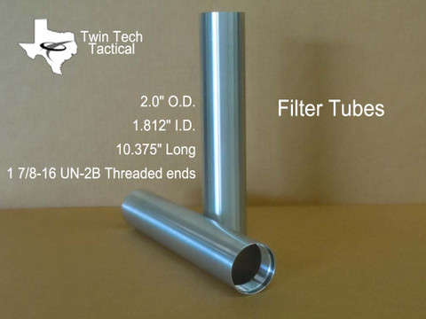 Twin tech water filter tubes. 1 tube included in sales price.