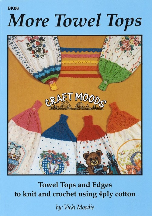 Image of Craft Moods book BK06 More Towel Tops by Vicki Moodie.