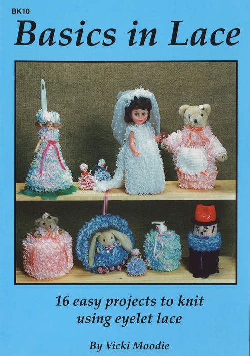 Image of Craft Moods book BK10 Basics in Lace by Vicki Moodie.
