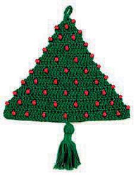 CMPATC012 - Beaded Door Christmas Tree
