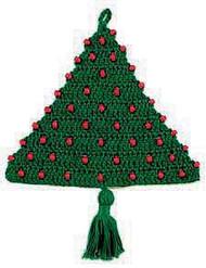 CMPATC012 - Beaded Door Christmas Tree