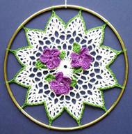 CMPATC014 - Violets Sun-Catcher
