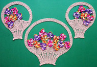 CMPATC015 - Pansy Basket 3 Piece Set