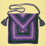 CMPATC029 - Granny Square Shoulder Bag