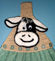 CMPATC036 - Cow Towel Topper