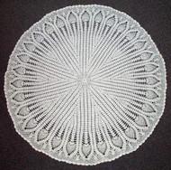 CMPATC043 - Pineapple Circular Shawl