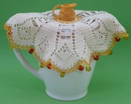 CMPATC080PDF Jug Cover with Cream Jug Centre