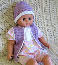 CMPATC073PDF Baby Vest and Beanie