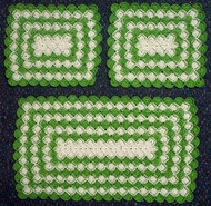 CMPATC044PDF - Two Tone Bavarian Stitch 3 Piece Set