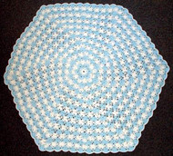 CMPATC041PDF - Hexagonal Baby Blanket (8ply)