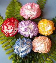 CMPATC009PDF - Crocheted Carnations