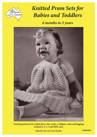 Cover of Paragon knitting book PARK05R  Knitted Pram Sets for Babies and Toddlers