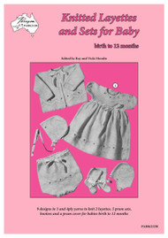 Front cover image of Paragon Heritage Series Baby Knitting Book K212R - Knitted Layettes and Sets for Baby.
