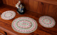 Craft Moods crochet pattern by Vicki Moodie, CMPATC106, Daisy Dressing Table Set, featuring rings of daisies.