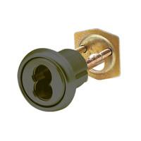 16RCR-16-10B Arrow Lock Rim Interchangeable Cylinder 6 Pin Housing in Oil Rubbed Bronze