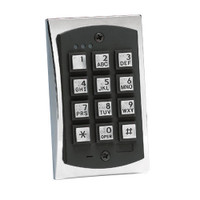 2000eM IEI 2000 Series eM Style Flush-mount Durable Metal Access Control Keypad