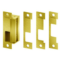 4100-US3 Trine Access Technology 4100 Series Fail Secure Cylindrical and Mortise Lock Electric Strike in Bright Brass