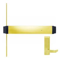 9547L-BE-F-US3-RHR Von Duprin Exit Device in Bright Brass