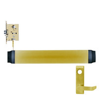 9575L-F-US4-RHR Von Duprin Exit Device in Satin Brass