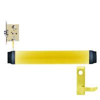 9575L-F-US3-RHR Von Duprin Exit Device in Bright Brass