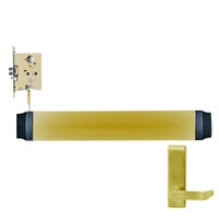 9575L-BE-F-US4-RHR Von Duprin Exit Device in Satin Brass