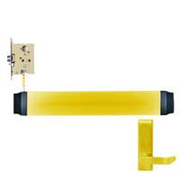 9575L-BE-F-US3-RHR Von Duprin Exit Device in Bright Brass