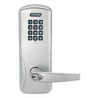 CO100-MS-70-KP-ATH-PD-619 Schlage Standalone Mortise Electronic Keypad locks in Satin Nickel
