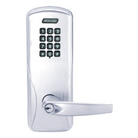 CO100-MS-70-KP-ATH-PD-625 Schlage Standalone Mortise Electronic Keypad locks in Bright Chrome